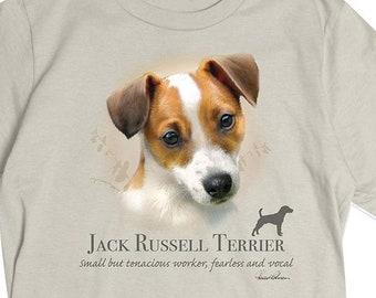 Jack Russell Terrier T-Shirt Herren Hund Liebhaber Geschenk