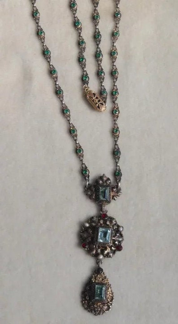 Austro Hungarian Renaissance Revival Necklace