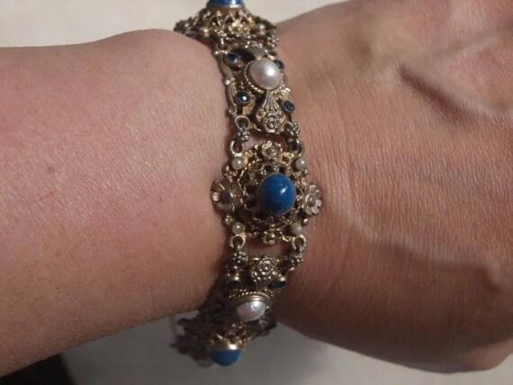 Austro Hungarian Renaissance Revival Bracelet