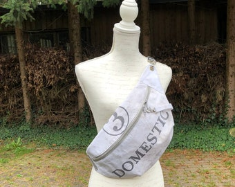 XL Belly Bag made of US Postbag Bum bag special Recycling fanny pack Crossbody Vintage fashion unisex Bag Hamburg