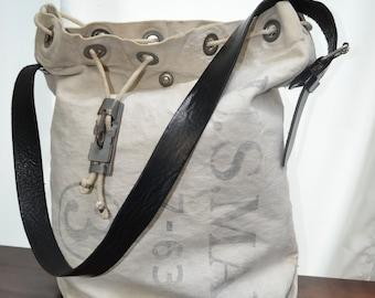 US MAIL Postbag Bag Bag Set Recycling Bag Mailbag Unique Piece Handmade Unisex Bag