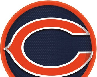 Bears Fan 2-Pack Chicago Bears Plastic License Plate Frame