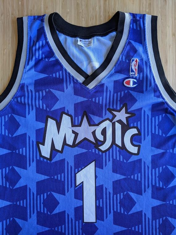 Tracy McGrady #1 Orlando Magic Champion NBA jersey