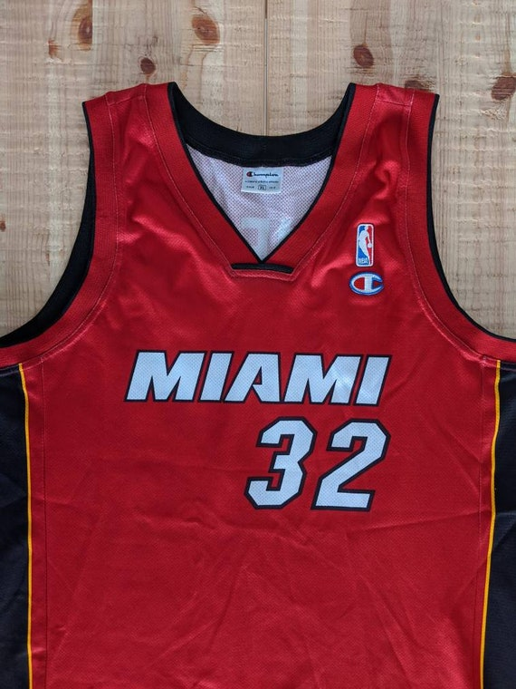 Shaquille O'neal #32 Miami Heat  Champion NBA jers