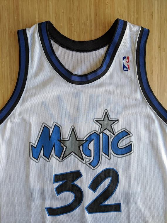 Vintage Shaquille O'neal #32 Orlando Magic Champio