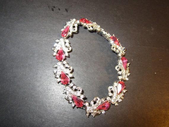 Vintage ORA 1940's Tennis Bracelet
