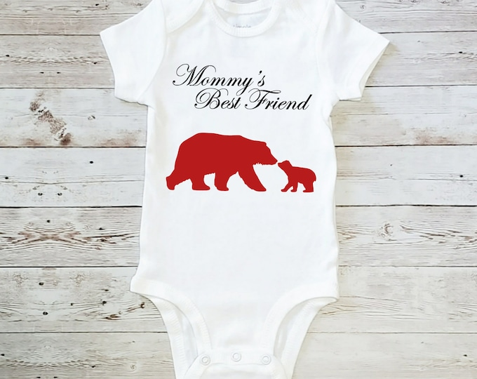 Mommy's Best Friend Bears Onesie Carter's Bodysuit