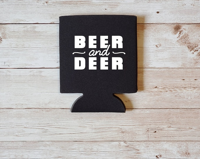 Beer and Deer Koozie Father's Day Gift