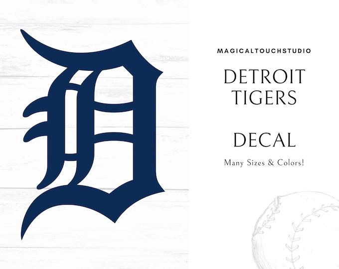 Detroit Tigers MLB Baseball Car Window Tumber Mug Decal