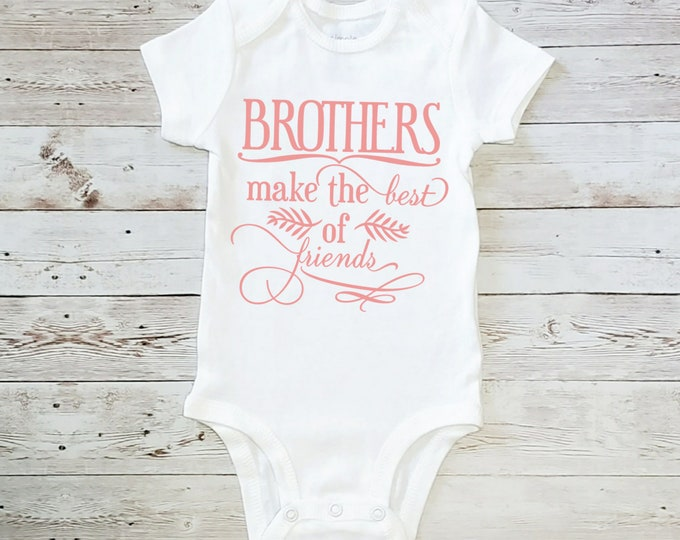 Brother's Make The Best of Friends Onesie Carter's Bodysuit