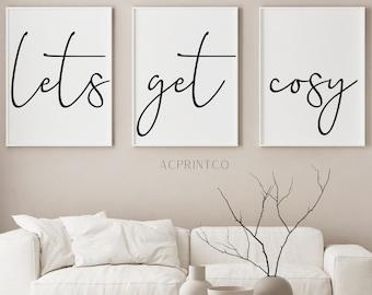 I Am Enough Bedroom Wall Prints Girly Bedroom Prints Fashion Prints Modern Art