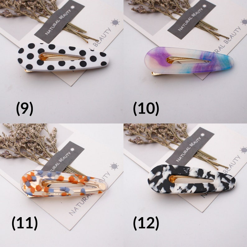 WA! Hair Accessories; Ships from Seattle NEW Natural Beauty Hair Clip
