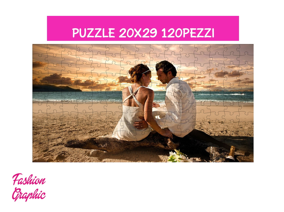 Custom Puzzle With Photo Image Format A4 120pz On Request ...