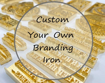 Custom Gift for Dad, husband, Custom Branding Iron, Wood Stamp, Woodworker and Leather Craft, Electric Branding Iron