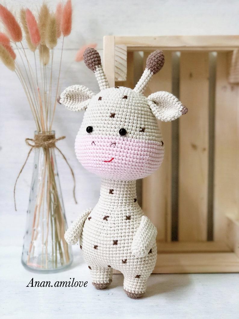 PATTERN giraffe amigurumi crochet PDF pattern