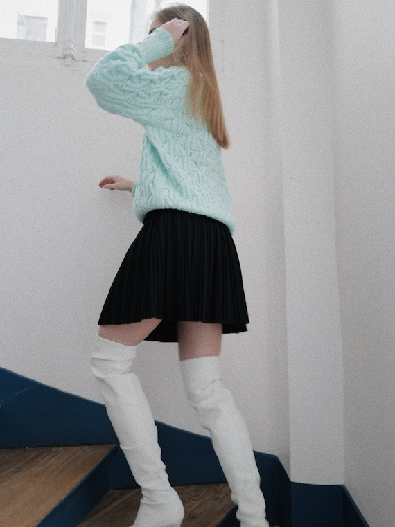 Vintage Cable Knit Sweater @ Medowski Vintage