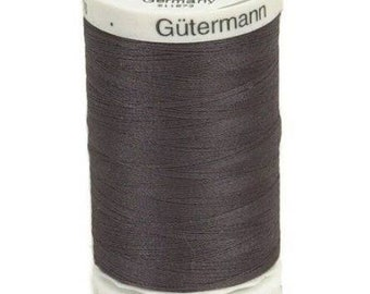 Gutermann Sew All Thread 500 Meter - #116 Smoke