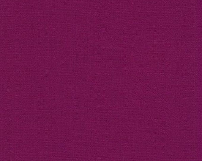 Berry Kona Cotton Fabric - By the 1/4 Yard -  100 % Cotton Fabric - QUICK SHIPPING - Purple Quilting Cotton