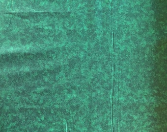 Green Blender Fabric - Green Fabric - Cotton Fabric - By the 1/4 Yard - Quick Shipping - Perfect for Mask Making