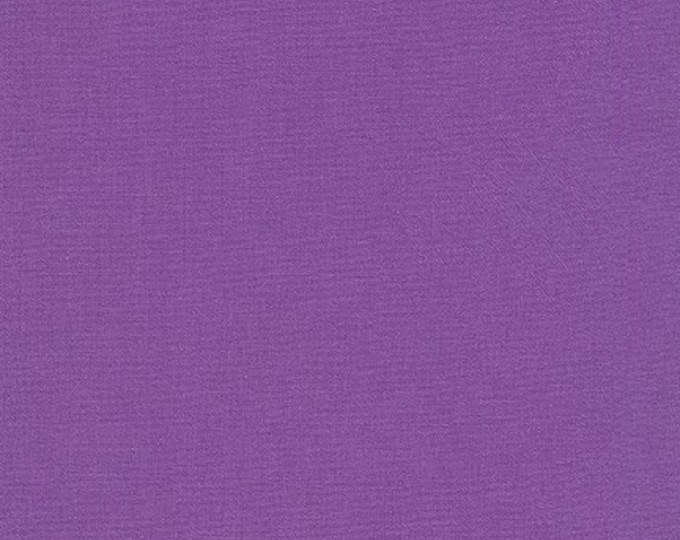 Crocus Purple Kona Cotton Fabric - By the 1/4 Yard -  100 % Cotton Fabric - QUICK SHIPPING - Purple Quilting Cotton