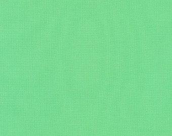 Parakeet Green Kona Cotton Fabric - Green Kona Cotton - By the 1/4 Yard - Quick Shipping - 100% Cotton - Green Quilting Cotton
