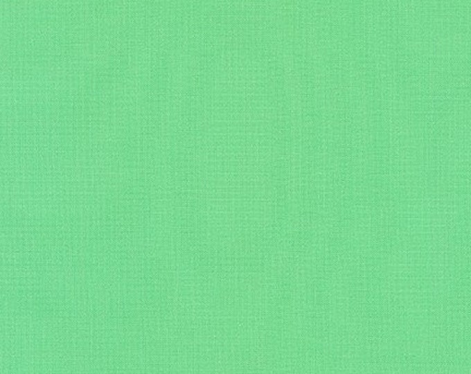 Parakeet Green Kona Cotton Fabric - Green Kona Cotton - By the 1/4 Yard - Quick Shipping - 100% Cotton - Green Quilting Cotton