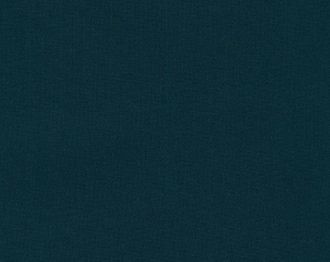 Navy Kona Cotton Fabric - By the 1/4 Yard -  QUICK SHIPPING - Perfect for Mask Making