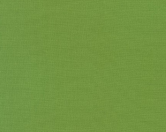 Grass Green Kona Cotton Fabric - Green Kona Cotton - By the 1/4 Yard - Quick Shipping - 100% Cotton - Perfect for Mask Making