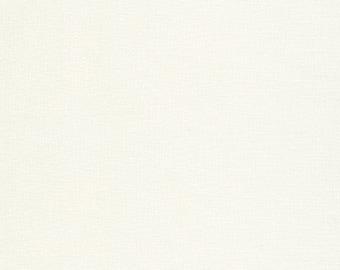 Bone Kona Cotton Fabric - By the 1/4 Yard - Quick Shipping - Perfect for Mask Making - Off White Kona Cotton Fabric
