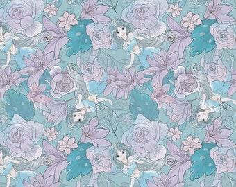 Jasmine Fabric - Aladdin Fabric - By the 1/4 Yard - Quick Shipping - Disney Princess Fabric - Perfect for Mask Making