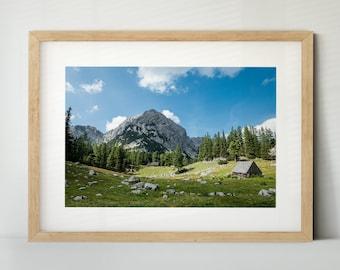Gesäuse, Österreich (Poster, Fine Art Print, Leinwand) | Landschaft, Berge