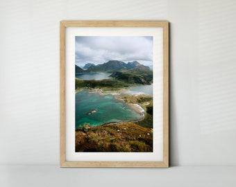Offersoykammen, Lofoten (Poster, Fine Art Print, Canvas) | Landscape, Norway