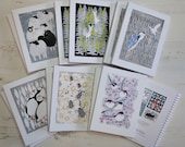 A5 Notebook, Journal Notebook, Six Wildlife design options. Spiral Bound sustainable sourced card and plain paper. Designed & Printed  UK.