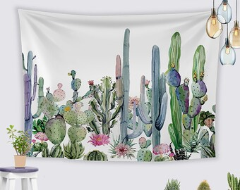 Succulent Tapestry Etsy