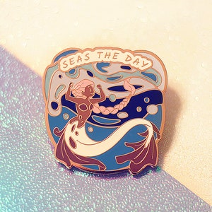 You Mermaid for This \u2014 Hard Enamel Pin