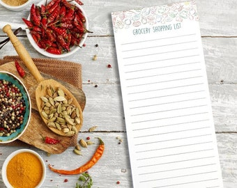 Notepads, Shopping List, Honey-Do List, Christmas List, To-Do List, Grocery List