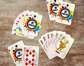 Personalized Playing Card Deck, Playing Cards