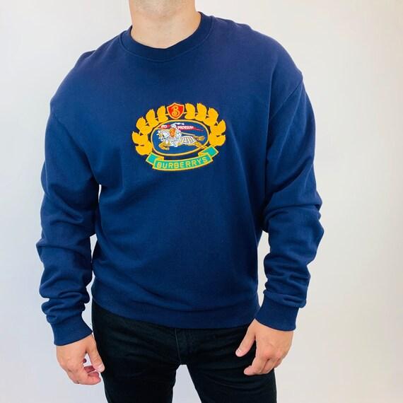 Burberry jumper. Vintage Burberry Big logo jumper.