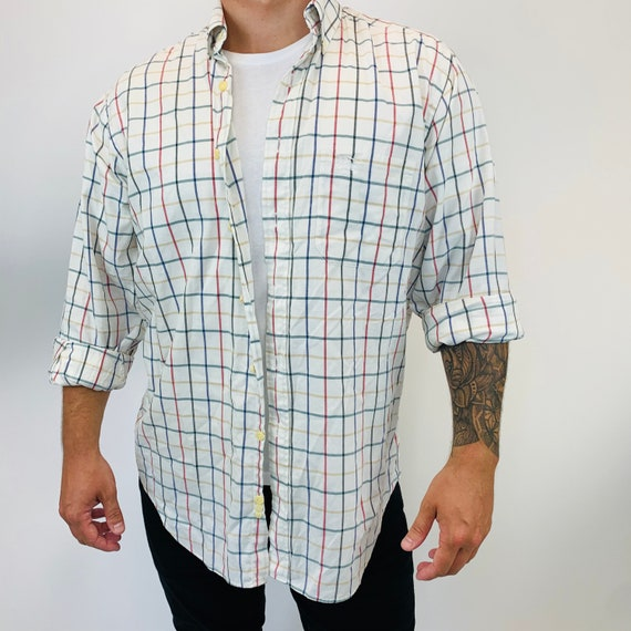 Burberry shirt. Vintage Burberry Nova check shirt.