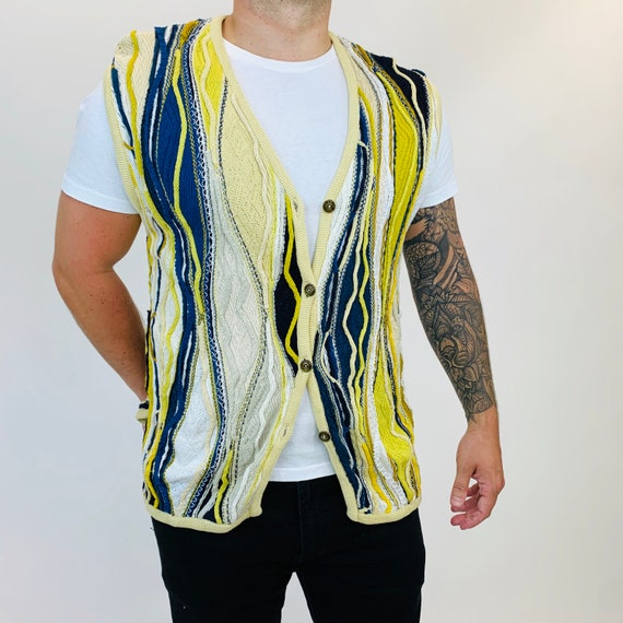 Coogi vest. Vintage Coogi oversized vest.
