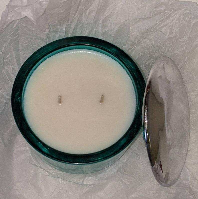Aquamarine Jewel Candle