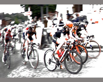 Exposed Racers, Framed Print, Limited Edition, Photo, Cyclists, Aviva Womans Road Race, Photoart, Bikes, Biking