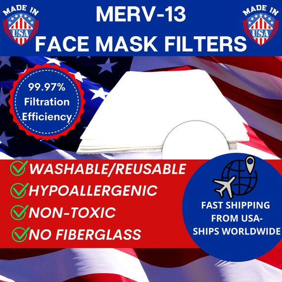 "Filtres Fast 4/"" HVAC 3-Pack MERV 13 AIR et Four Filtres MADE IN USA *"