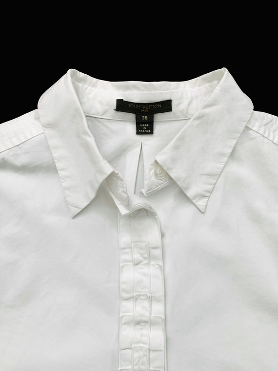 Louis Vuitton White Cotton Shirt