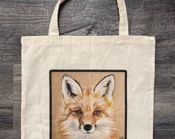 Child/'s Tote Bag Fox design