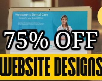 Website Design, Website Templates, Custom Webdesign & HOSTING