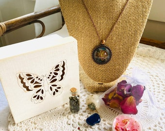 Butterfly Box Gift Set