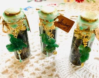 Manifest Abundance bottle/jar