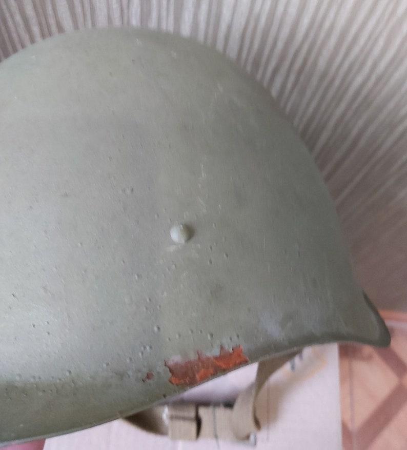 cap Original USSR 1957 Military Soviet Army WWII SSh40 type Steel Helmet #1 hat new armor