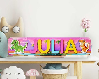 Personalized Name Puzzle for Girl, Baby Girl Gift, Name Puzzle Gift for Toddler, Birthday Gift, Nursery Decor for Girl, Wooden Puzzle Gift